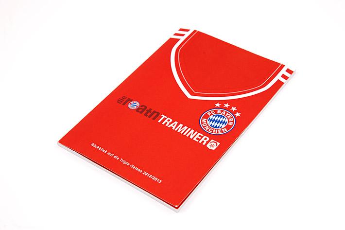 """Foto der Broschüre des Fanclub der """"Roatn Traminer"""""""