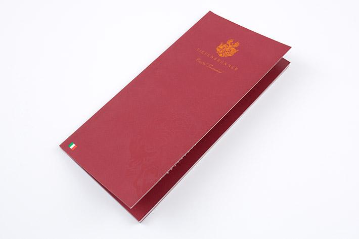 24 seitige Broschüre Tiefenbrunner