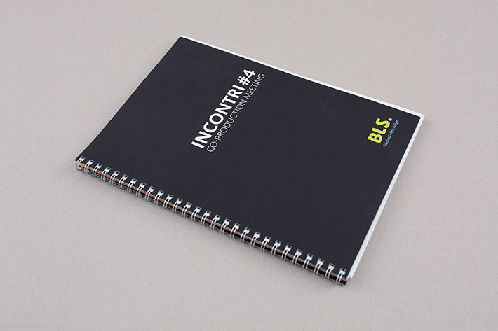 """Broschüre """"Branchenevent INCONTRI#4"""""""