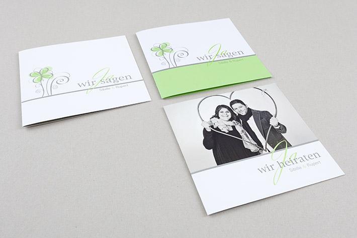 Einladungs- und Dankeskarten