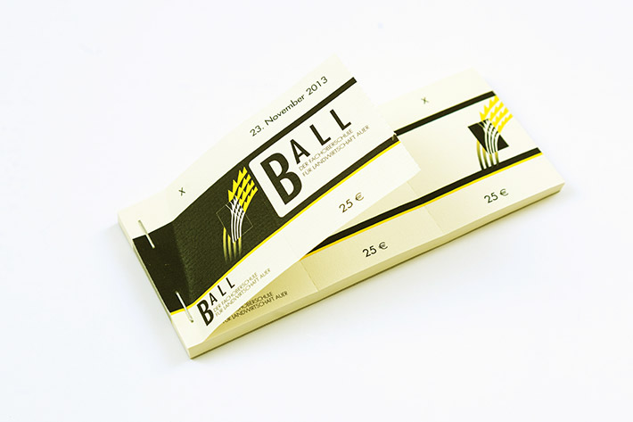 Ball Eintrittskarten