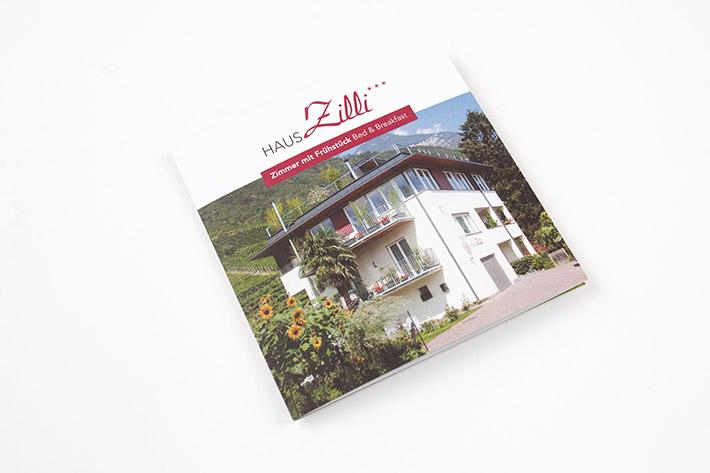 Klappkarte Haus Zilli
