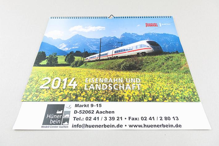 VG Bahn Kalender