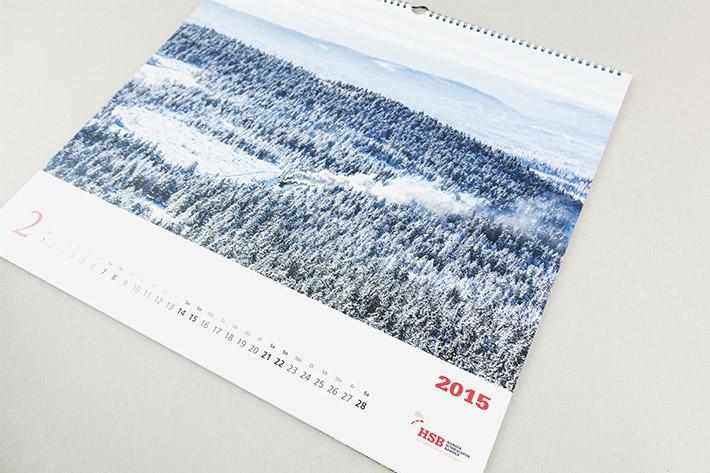Innenseite vom Kalender
