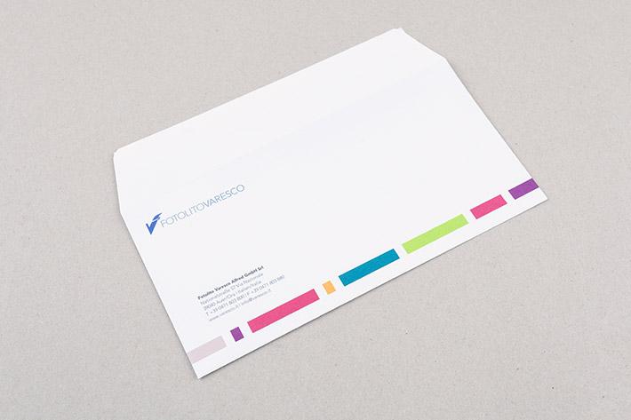 Kuvert im Format 22 x 11 cm
