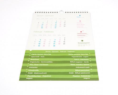 Kalender Mülltrennung