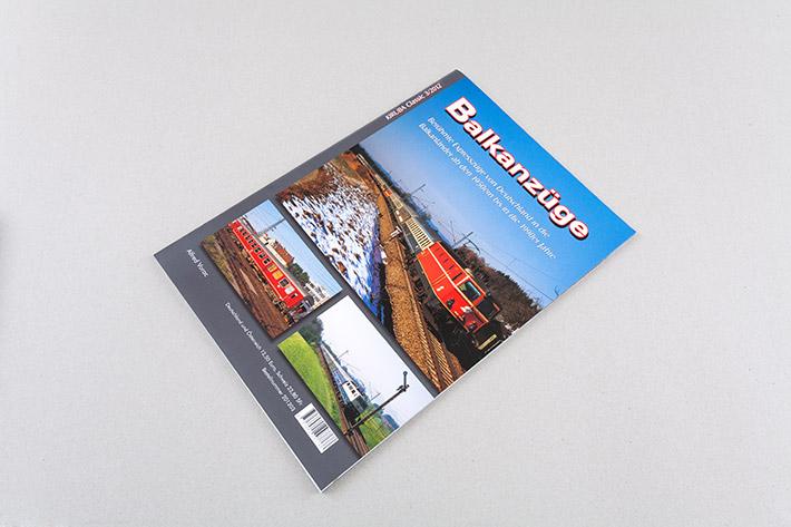 Cover des Magazins Balkanzüge