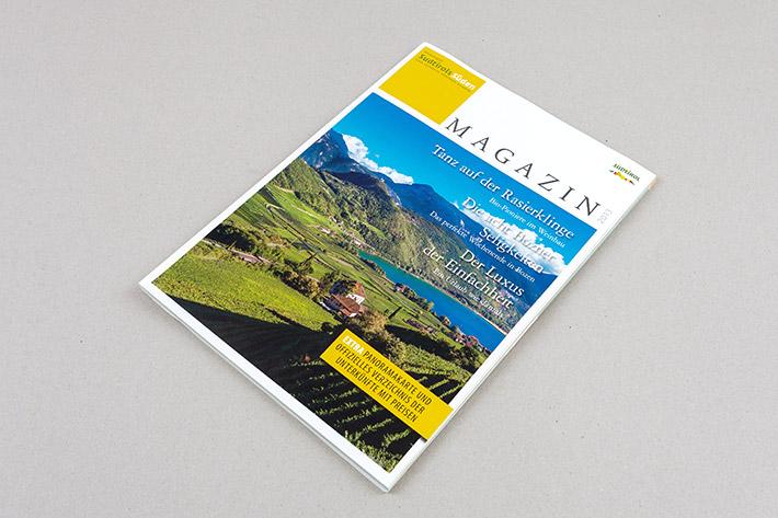 Cover des Magazins Südtriols Süden