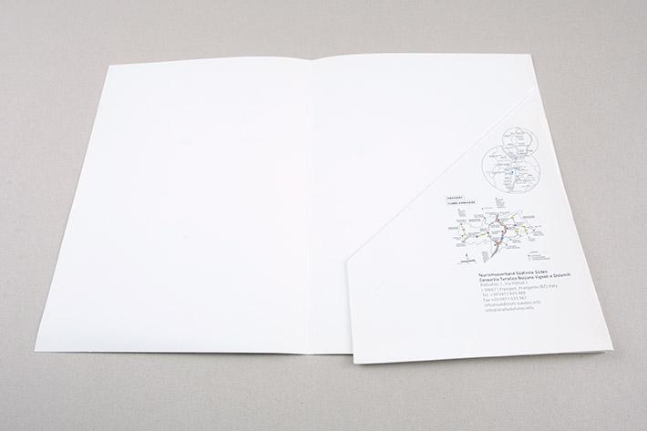 Innenseite der Mappe