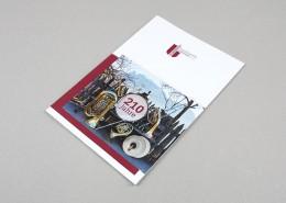 Titelseite von der Vereinsbroschure Unterinn