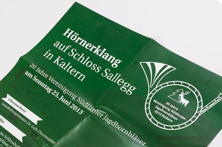 Jagdhornbläsertreffen in Kaltern