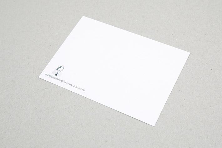 Rückseite der Postkarte im Format 14,8 x 10,5 cm