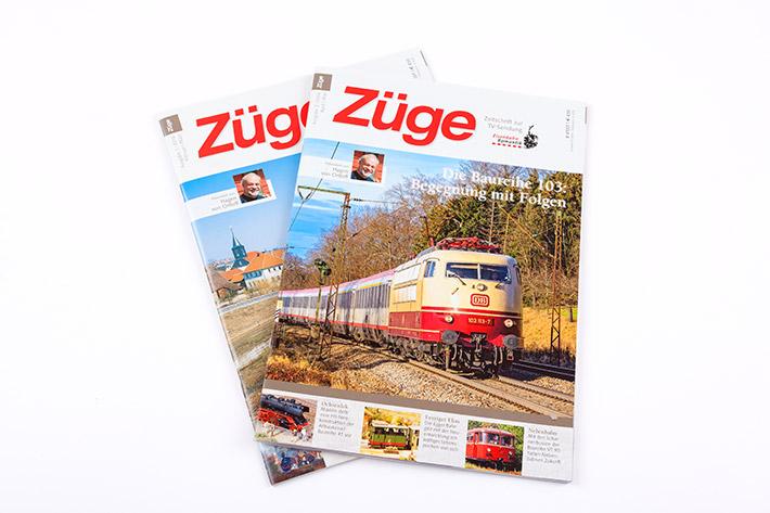 Cover der Zeitschrift Züge
