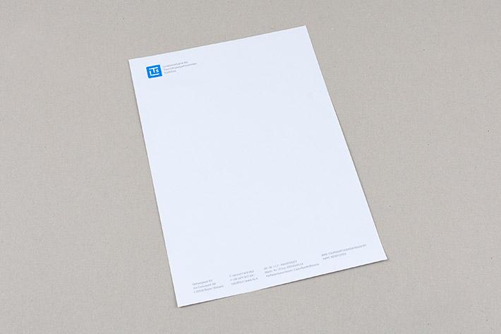 Briefpapier im Format A4